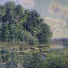 The Eure in Summer, 1902 02 - A3 Poster