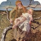 Fruit of Love by Giovanni Segantini - A3 Poster