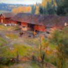 Autumn by Werenskjold - A3 Poster