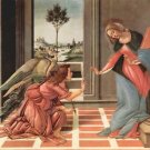 Annunciation by Botticelli - A3 Poster