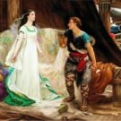 Tristan and Isolde, 1901 - 24x18 IN Poster