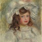 Young Girl in a Hat, 1905 - A3 Poster