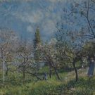 Orchard in Spring, 1883 - A3 Poster