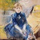 Little Girl in a Blue Dress - 1886 - Poster (24x32IN)