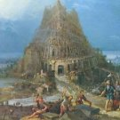 Tower of Babel [2] by Pieter Bruegel - 24x32 IN Canvas
