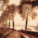Mortlake Terrace by Joseph Mallord Turner - A3 Poster