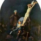 Crucifixion 2 by Rembrandt - 24x18 IN Canvas