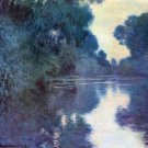 Seine bend in Giverny by Monet - A3 Poster