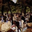 Music in Tuilerie Garden by Manet - A3 Poster