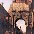 Titus Arch in Rome by Canaletto - A3 Poster