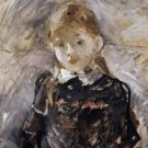 Little Girl with Blond Hair - 1883 - A3 Poster