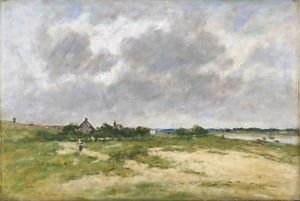Outskirts of Etaple, 1891 - 24x18 IN Poster