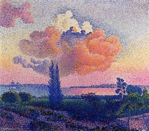 The Pink Cloud, 1896 - 24x18 IN Poster