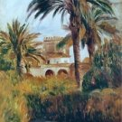 The Garden of Essai in Algiers, 1882 - A3 Poster