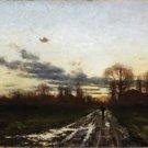 T.C. Steele - Sunrise - A3 Paper Print