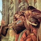 Slander Detail 2 by Botticelli - A3 Poster