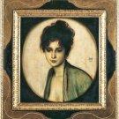 Portrait of Mrs. Feez by Franz von Stuck - A3 Poster