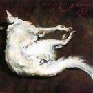 A Sketch of My Hound Kuttie, 1885 - 24x18 IN Canvas