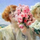 A summer offering by Alma-Tadema - 24x32 IN Canvas