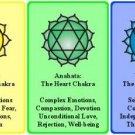 Vinteja charts of - Chakra - A3 Paper Print