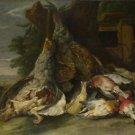 Jan Fyt - Dead Birds in a Landscape - 24x32IN Paper Print
