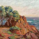 The Red Rocks, 1906 - 24x32 IN Canvas