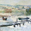 River in Winter, 1907 - A3 Poster
