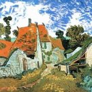 Houses in Auvers by Van Gogh - A3 Poster