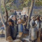 The Poultry Market in Gisors, 1887 - A3 Poster