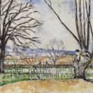 The Trees of Jas de Bouffan in Spring, 1878-80 - A3 Poster