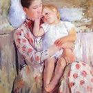 Mother and Child by Cassatt - A3 Poster