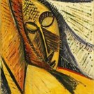 Pablo Picasso - Head of a Sleeping Woman - 24x18 IN Poster