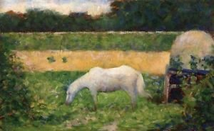 Landscape with Horse 1882 3 - 24x18 IN Poster