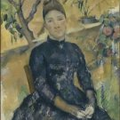 Portrait of Madame Cezanne in the Conservatory, 1891 - A3 Poster