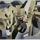 Francis Picabia - New York - 30x40IN Canvas Painting