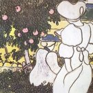 Illustration to Les Vierges [1]  by Joseph Rippl-Ronai - 30x40 IN Canvas