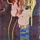 The Beethoven Freize 2 by Klimt - 24x18 IN Canvas