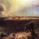 Jerusalem from the Mount of Olives by Frederick Edwin Church - A3 Poster