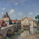 The Bridge of Moret, 1893 - Poster (24x32IN)