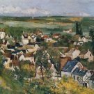 View of Auvers-sur-Oise, 1873 - Poster (24x32IN)