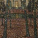 Trianon Pool in Autumn, 1937 - A3 Poster