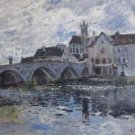 The Bridge of Moret, 1885 - 24x18 IN Poster
