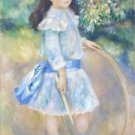 Girl with a Hoop, 1885 - 24x18 IN Poster