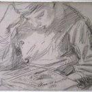 The Artist's Son Pierre, 1880 - 24x32 IN Canvas