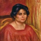 Gabrielle in a Red Blouse, 1910 - A3 Poster