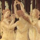 Spring (Primavera), detail [1] by Botticelli - A3 Poster