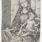 Madonna with child and parrot. 1470-1490 - A3 Poster