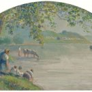 Banks of the Oise, 1890 - A3 Poster