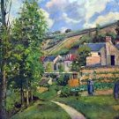 Landscape in Pontiose by Pissarro - A3 Poster