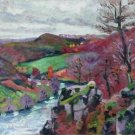 Landscape of the Creuse, 1910 02 - 30x40 IN Canvas